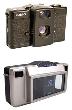 The LOMO Kompakt Automat and the Loreo 3D