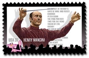 Henry Mancini memorial stamp