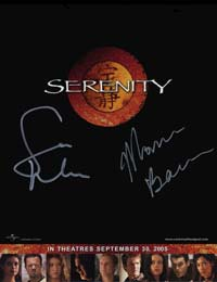 Serenity promotional flat