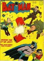 Batman fights the original, pre-Crisis Axis of Evil