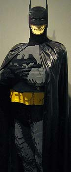 Lego Batman sculpture from NYCC.  Photo by No_Onions.