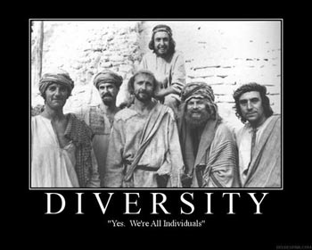 Diversity: 'Yes. We're All Individuals