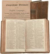 Noah Webster's Compendious Dictionary of the English Language, 1806
