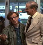 Woody Allen and Marshall McLuhan in ANNIE HALL