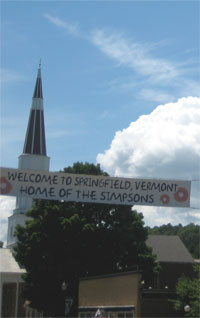 Welcome to Springfield, VT
