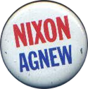 Nixon Agnew campaign badge