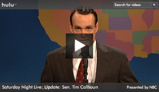 Tim Calhoun on Weekend Update