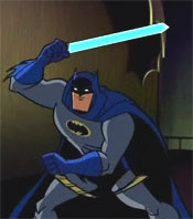 Bat-lightsaber!