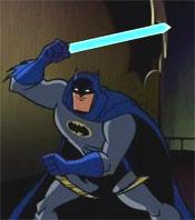Bat-lightsaber!
