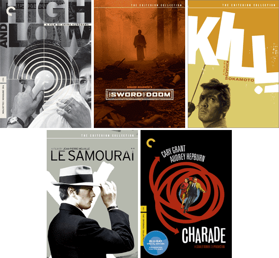 Top 5 Criterion covers
