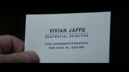 card - I Heart Huckabees - Vivian Jaffe