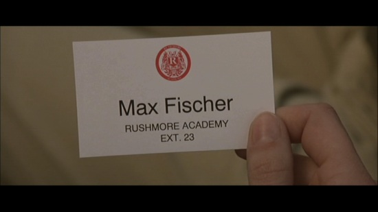 card - Rushmore Max Fischer