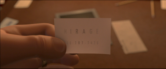 card - The Incredibles - Mirage