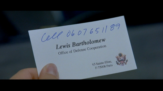 card - The Truth About Charlie - Lewis Bartholemew