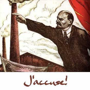 Lenin: J'accuse!