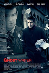 Theatrical poster for 'The Ghost Writer'