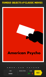Famous Objects from Classic Movies: American Psycho