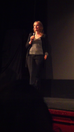 "Julie Delpy at the Independent Film Festival Boston screening of ""Two Days in New York"""