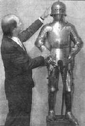 Armor found in 1996 and believed to have been worn by Joan of Arc.