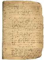 Register of Guillaume Giraud, notary of Orleans.