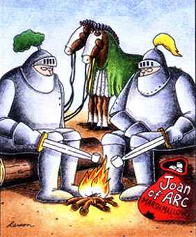 THE FAR SIDE by Gary Larson.  Used respectfully, but without permission.