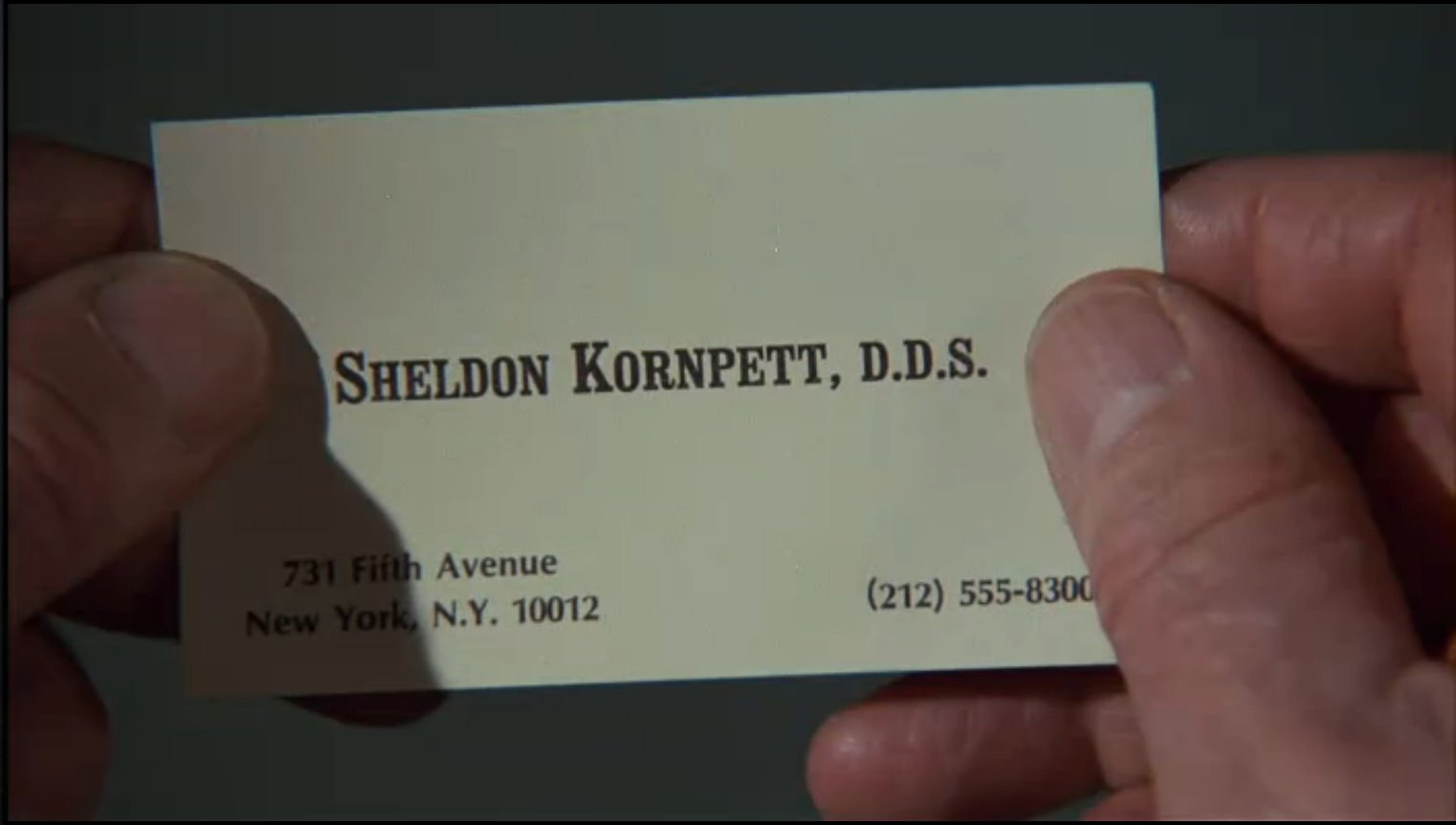 GALLERY: Business Cards in Cinema |