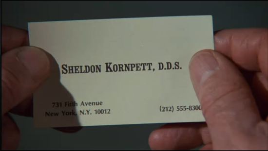 The In-Laws - Dr. Sheldon Kornpett