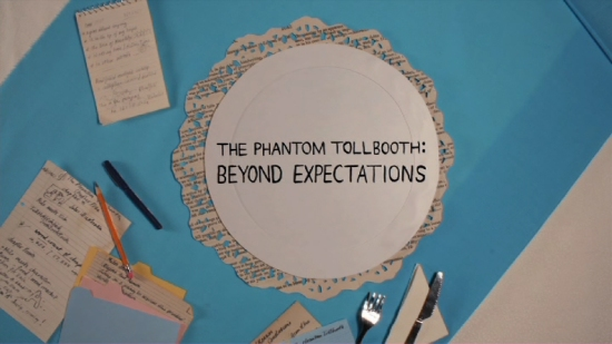 THE PHANTOM TOLLBOOTH: BEYOND EXPECTATIONS -- Title Screen