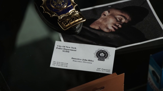 Detective John Riley, Narcotics in Person of Interest