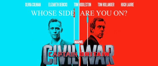 CAPTAIN BRITAIN: CIVIL WAR — Whose Side Are You On?