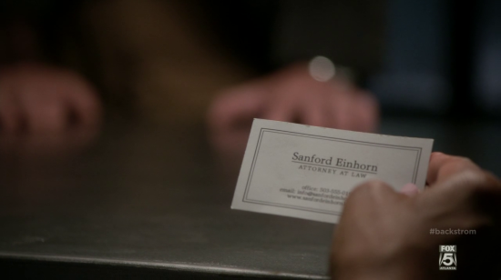Sanford Einhorn, Attorney at Law in Backstrom
