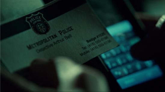 Detective Arthur Bell in Orhpan Black