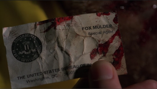 Special Agent Fox Mulder in The X-Files