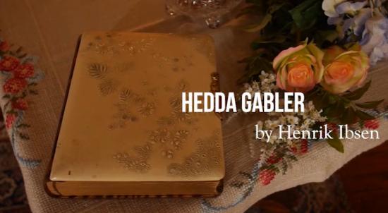 HEDDA GABLER -- title card