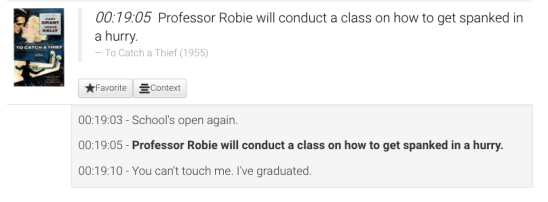 TO CATCH A THIEF: Professor Robie will conduct a class on how to get spanked in a hurry.