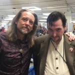 Steve Whitmire and the author, Sept. 2018