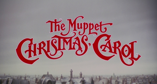 TITLE CARD: The Muppet Christmas Carol