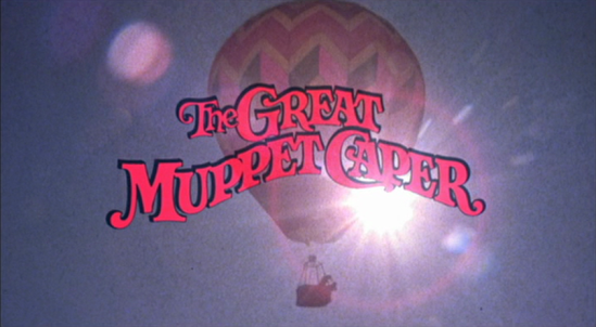 TITLE CARD: The Great Muppet Caper