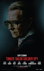 Tinker Tailor Solider Spy promo character poster of Gary Oldman as George Smiley